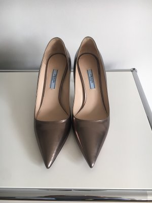 Prada Pumps Metallic