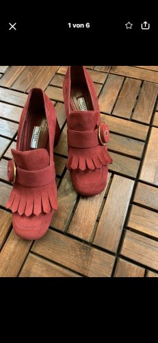 Prada Loafers red