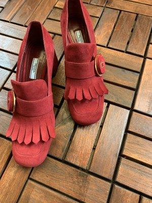 Prada Zapatos Informales rojo