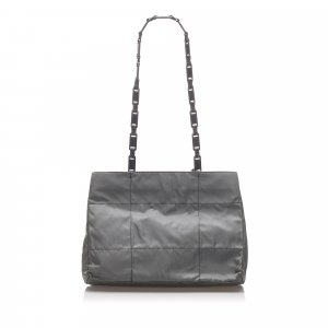 Prada Quilted Tessuto Chain Shoulder Bag