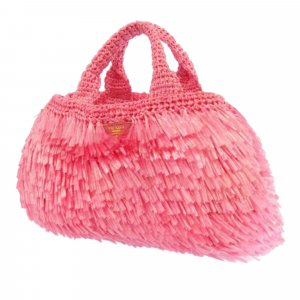 Prada Raffia Handbag