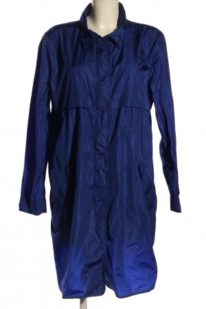 Prada Heavy Raincoat blue casual look