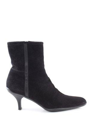 Prada Reißverschluss-Stiefeletten schwarz Casual-Look