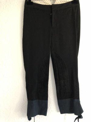 Prada Pantalone da equitazione nero