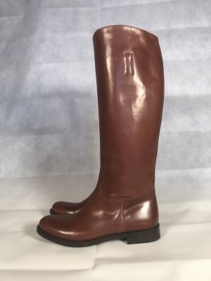Prada Riding Boots cognac-coloured-brown leather