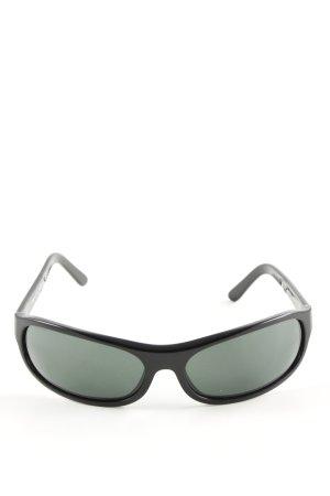 Prada Retro Brille schwarz Casual-Look