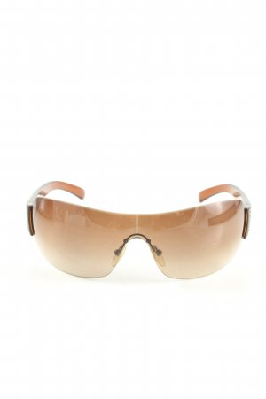 Prada Retro Brille braun Casual-Look