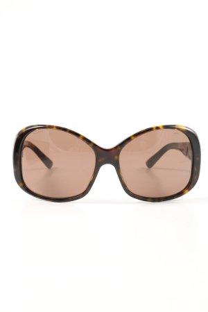 Prada Retro Glasses brown-light orange color gradient casual look