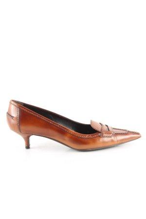 Prada Richelieus Shoes brown business style