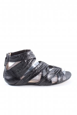 Prada Strapped Sandals black casual look