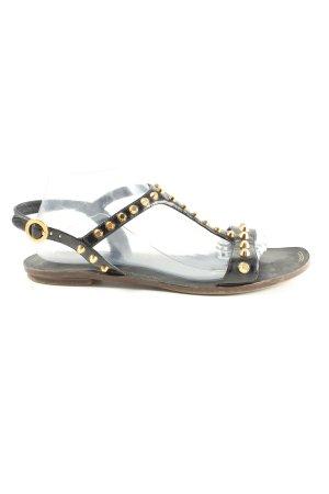 Prada Strapped Sandals black elegant