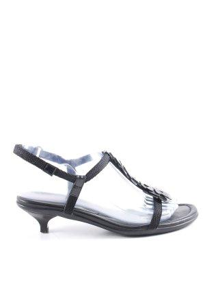 Prada Riemchen-Sandaletten schwarz Casual-Look