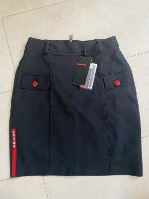 Prada High Waist Skirt black