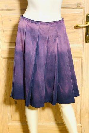 Prada Denim Skirt dark violet cotton