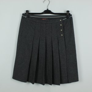 Prada Wraparound Skirt dark grey mixture fibre