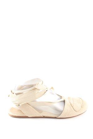 Prada Roman Sandals cream casual look