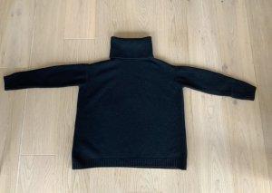 Prada Jersey de cuello alto negro