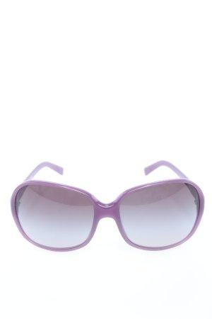 Prada Occhiale da sole rotondo lilla stile casual