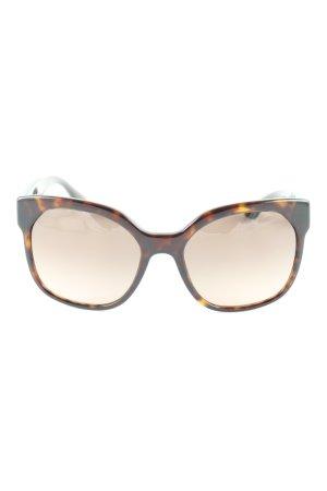 Prada runde Sonnenbrille mehrfarbig Casual-Look