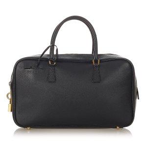 Prada Saffiano Bauletto Handbag