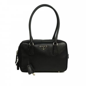 Prada Saffiano Bauletto Shoulder Bag