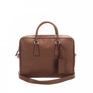 Prada Saffiano Business Bag
