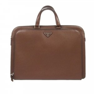 Prada Business Bag brown leather