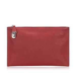 Prada Saffiano Clutch Bag