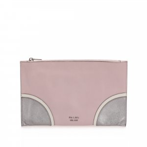 Prada Saffiano Clutch Bag