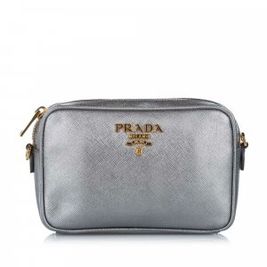 Prada Crossbody bag green leather