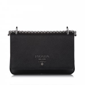 Prada Crossbody bag black leather