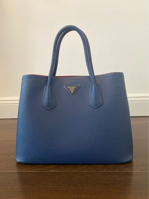 Prada Saffiano Cuir Bag in Blue