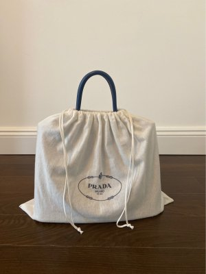 Prada Saffiano Cuir Bag in Blue