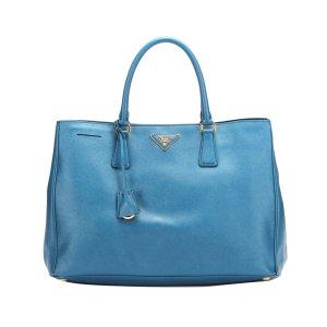 Prada Handbag blue leather