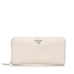 Prada Saffiano Leather Long Wallet