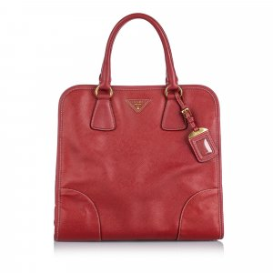 Prada Saffiano Leather Satchel