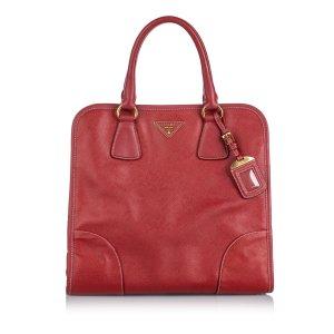 Prada Saffiano Leather Satchel