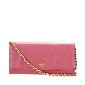Prada Wallet pink leather