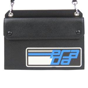 Prada Saffiano Logo Crossbody Bag