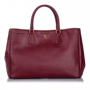 Prada Saffiano Lux Galleria Tote Bag