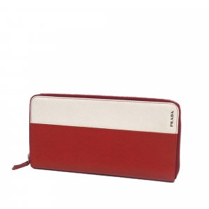 Prada Saffiano Travel Wallet