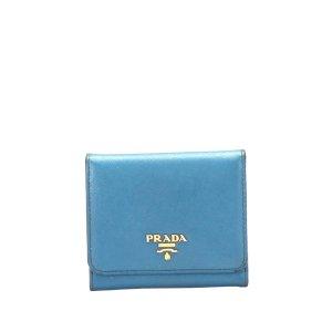 Prada Portafogli azzurro Pelle
