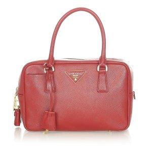 Prada Saffiano Vernice Handbag