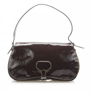 Prada Saffiano Vernice Shoulder Bag