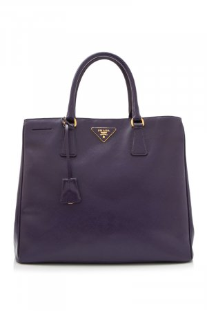 Prada Tote purple leather