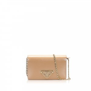 Prada Saffiano Wallet On Chain