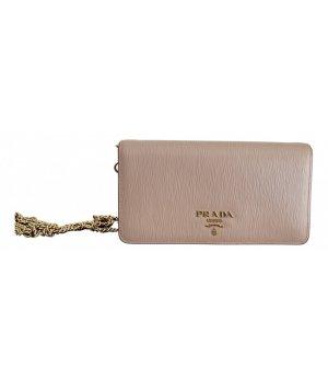 Prada Handbag beige leather