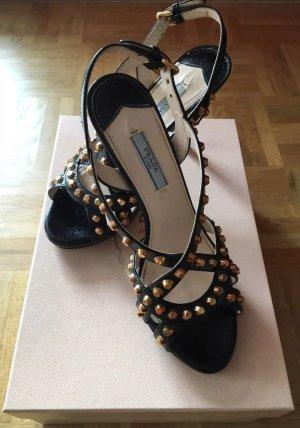 Prada Sandale Lackleder Größe 37