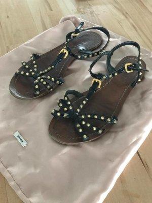 Prada Sandale mit Nieten