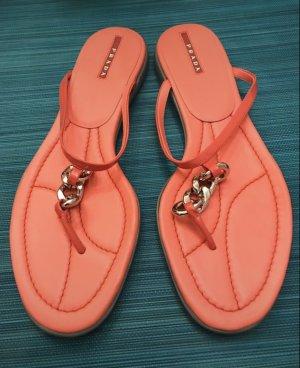 Prada Sandalen 41 1/2 ungetragen Schuhe Sommerschuhe